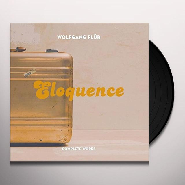 Wolfgang Flür ELOQUENCE:TOTAL WORKS - 2LP EDITION Vinyl Record - UK Import