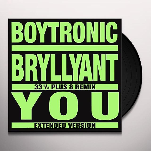 Boytronic BRYLLYANT Vinyl Record
