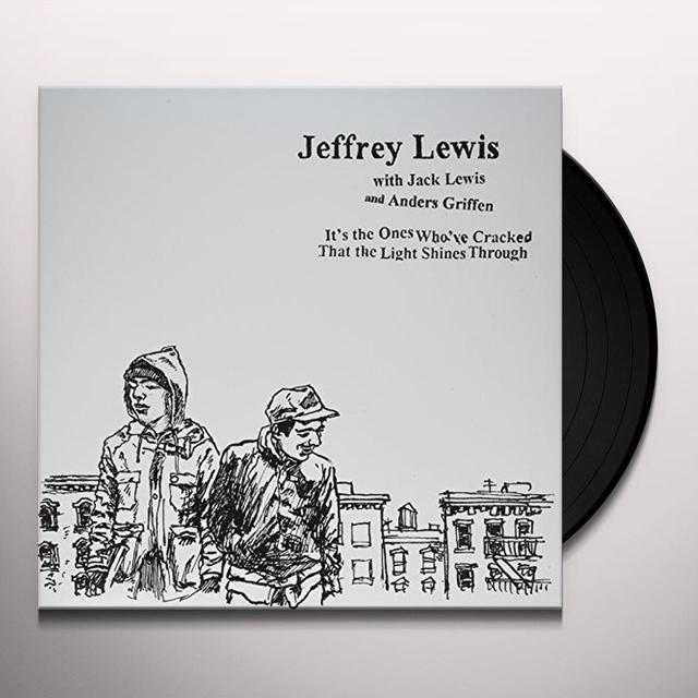 Jeffrey Lewis IT'S THE ONES WHO'VE CRACKED Vinyl Record