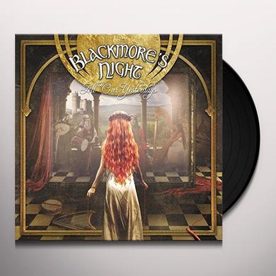 Blackmore'S Night ALL OUR YESTERDAYS Vinyl Record