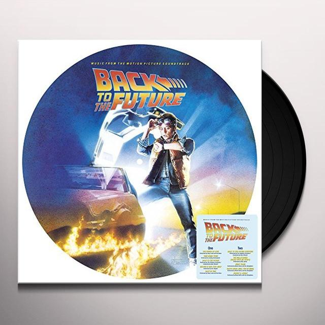 BACK TO THE FUTURE / O.S.T. (PICT) (REIS) BACK TO THE FUTURE / O.S.T. Vinyl Record - Picture Disc, Reissue