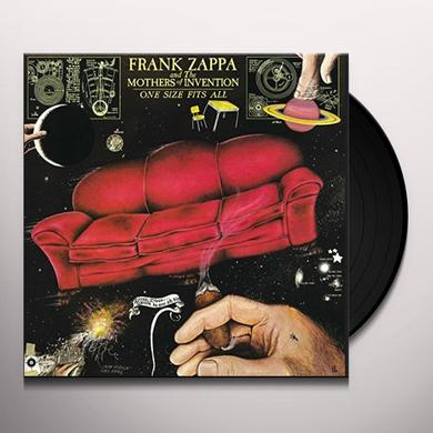 Frank Zappa ONE SIZE FITS ALL Vinyl Record