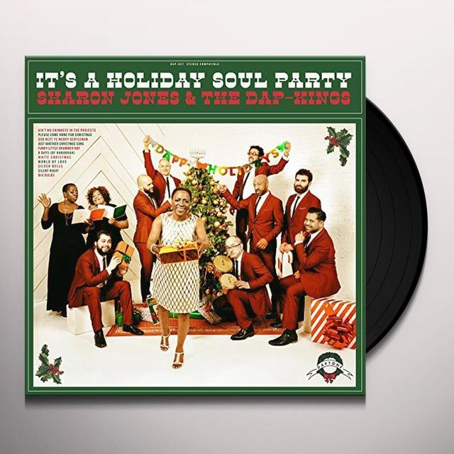 Sharon Jones & The Dap-Kings IT'S A HOLIDAY SOUL PARTY Vinyl Record