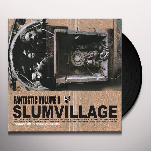 Slum Village FANTASTIC 2 Vinyl Record