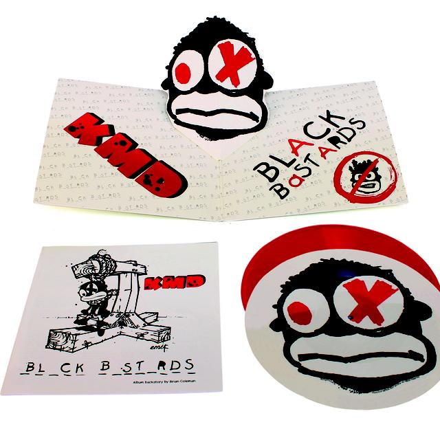 K.M.D. BL_CK B_ST_RDS Vinyl Record