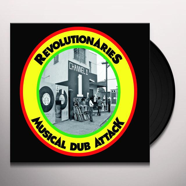 Revolutionaries MUSICAL DUB ATTACK Vinyl Record