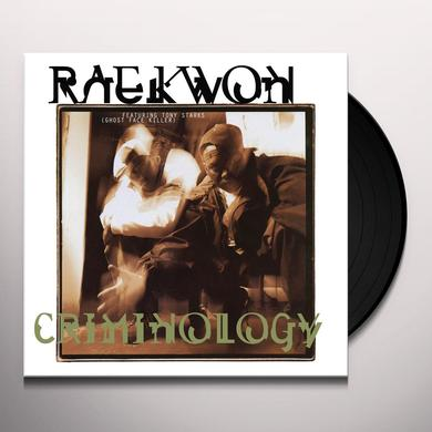 Raekwon CRIMINOLOGY Vinyl Record