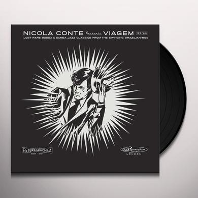 Nicola Conte VIAGEM V.2 Vinyl Record - 10 Inch Single