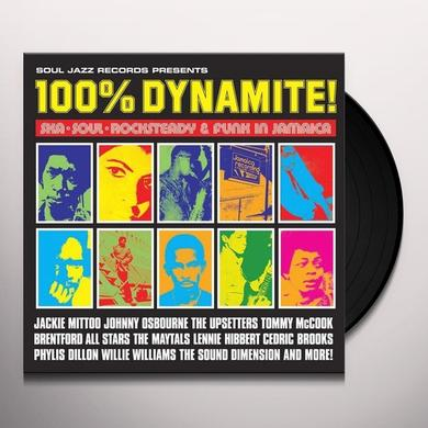 Soul Jazz Records Presents 100% DYNAMITE Vinyl Record