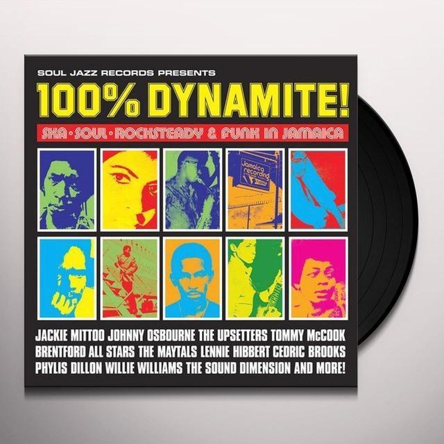 Soul Jazz Records Presents 100% DYNAMITE Vinyl Record - Digital Download Included