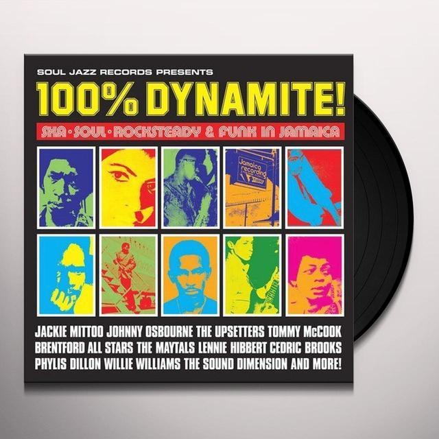 Soul Jazz Records Presents 100% DYNAMITE Vinyl Record