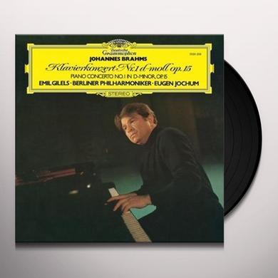BRAHMS / GILELS / JOCHUM / BERLINER PHILHARMONIKER PIANO CONCERTO NO 1 IN D MINOR Vinyl Record - 180 Gram Pressing