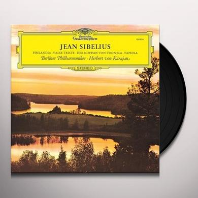 SIBELIUS / KARAJAN / BERLINER PHILHARMONIKER FINLANDIA / VALSE TRISTE / THE SWAN OF TUONELA Vinyl Record