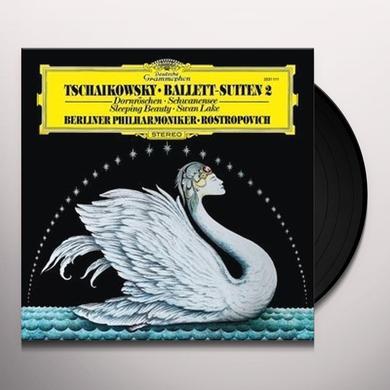 TCHALKOVSKY / KARAJAN / BERLINER PHILHARMONIKER BALLET SUITES II / THE SLEEPING BEAUTY / SWAN LAKE Vinyl Record