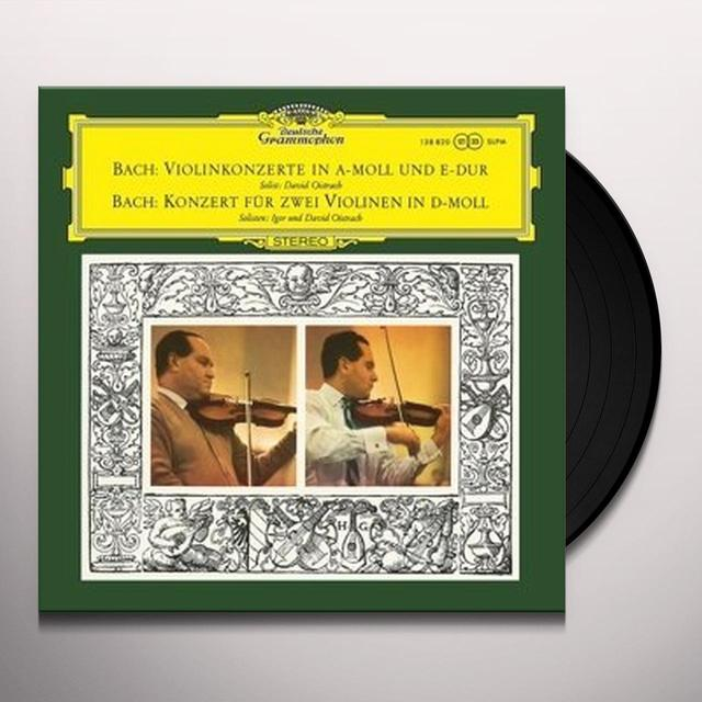 BACH / DAVID & IGOR OISTRAKH / GOOSENS / ROYAL PHI VIOLIN CONCERTOS NOS 1 & 2 / CONCERTO FOR 2 VIOLIN Vinyl Record