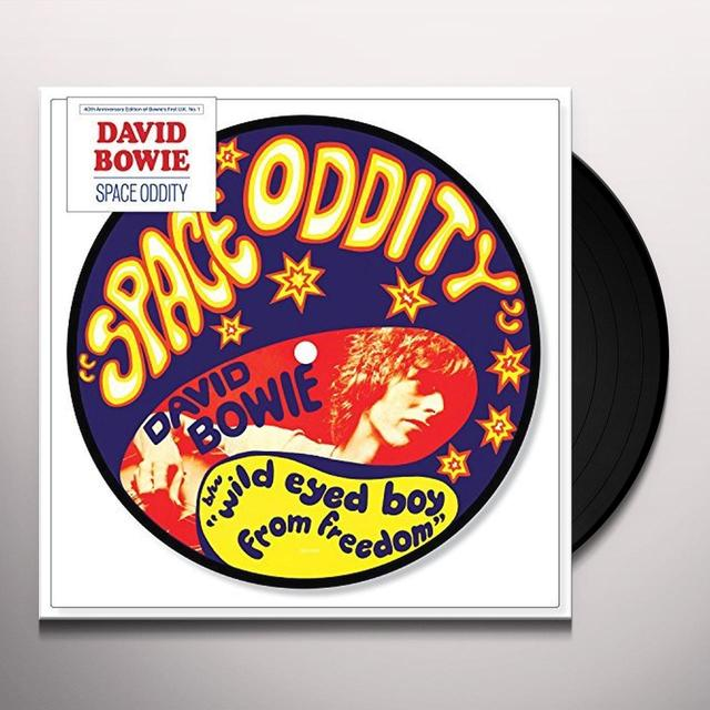 David Bowie SPACE ODDITY Vinyl Record - Picture Disc