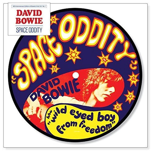 David Bowie Space Oddity Vinyl Record Picture Disc