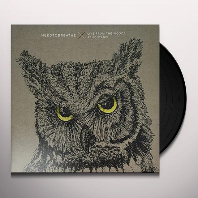 Needtobreathe LIVE FROM THE WOODS Vinyl Record