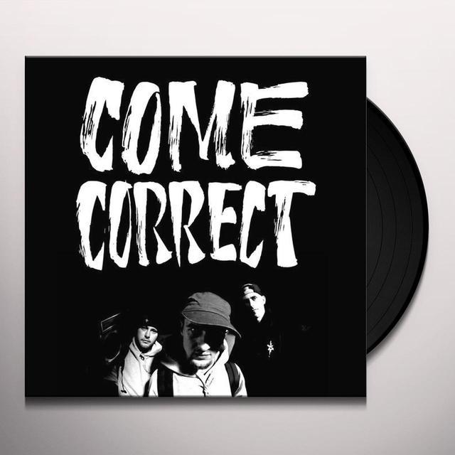 BLABBERMOUF COME CORRECT Vinyl Record