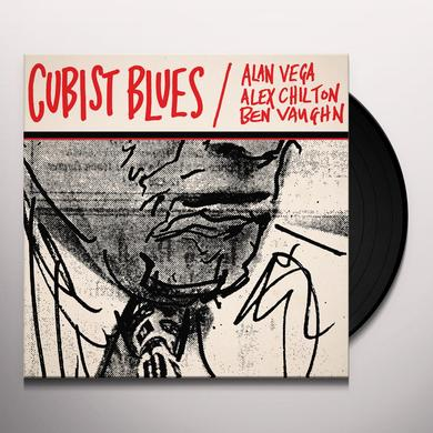 Alan VEGA, Alex CHILTON, Ben VAUGHN CUBIST BLUES Vinyl Record