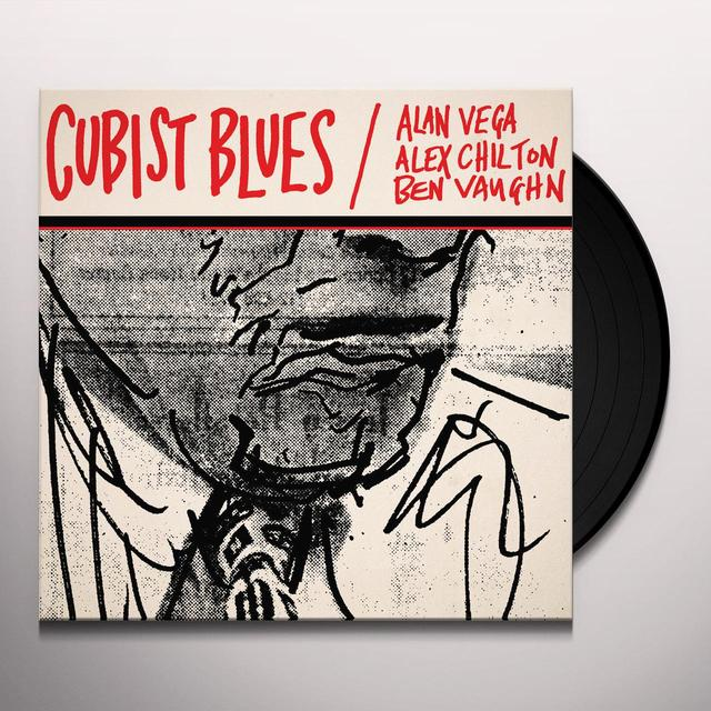 Alan VEGA, Alex CHILTON, Ben VAUGHN CUBIST BLUES Vinyl Record - Gatefold Sleeve, Deluxe Edition, Remastered, Digital Download Included