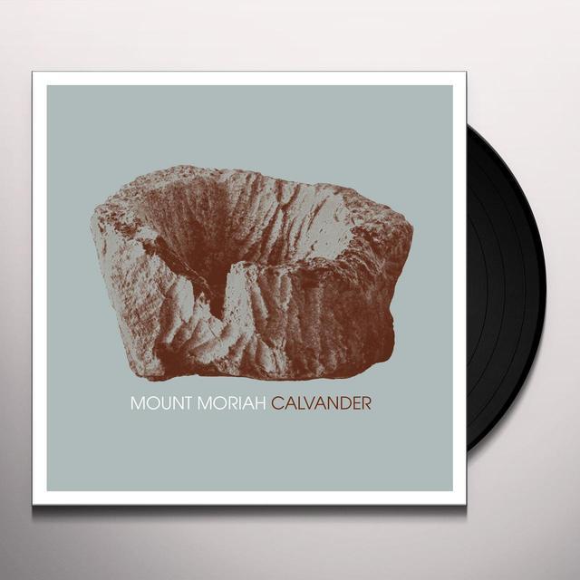 Mount Moriah CALVANDER & BABY BLUE (GARAGE DEMO) / PLANE (LIVE) Vinyl Record