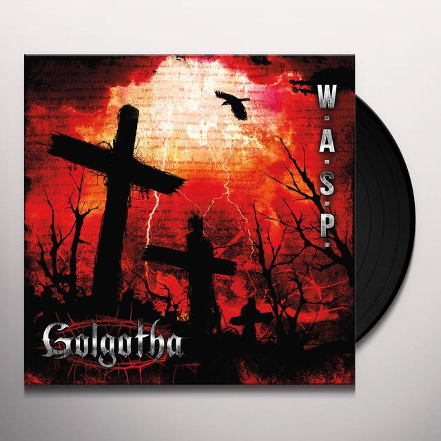 W.A.S.P. GOLGOTHA Vinyl Record - Gatefold Sleeve, 180 Gram Pressing, Digital Download Included