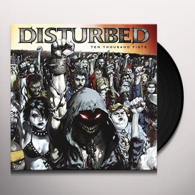 Disturbed TEN THOUSAND FISTS Vinyl Record