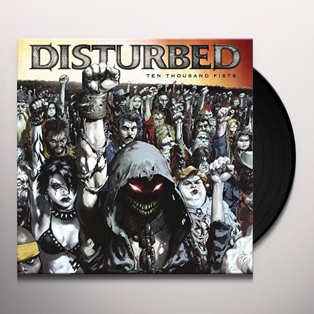 Disturbed TEN THOUSAND FISTS Vinyl Record