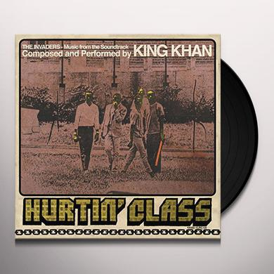 KING KHAN - HURTIN' CLASS Vinyl Record