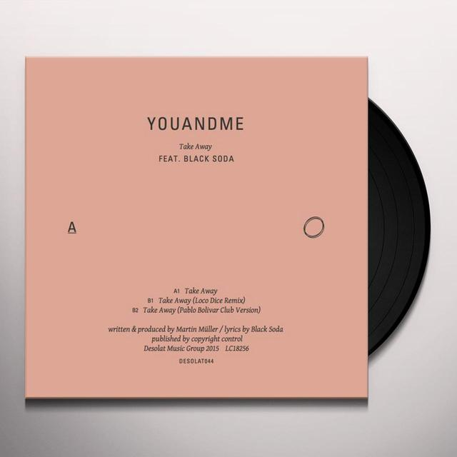 Youandme TAKE AWAY Vinyl Record