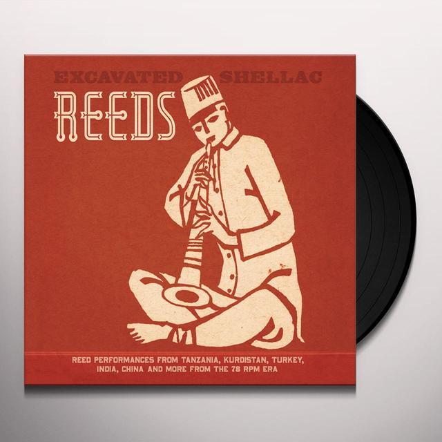 EXCAVATED SHELLAC: REEDS / VARIOUS (WB) (DLCD) EXCAVATED SHELLAC: REEDS / VARIOUS (WB) Vinyl Record - Digital Download Included
