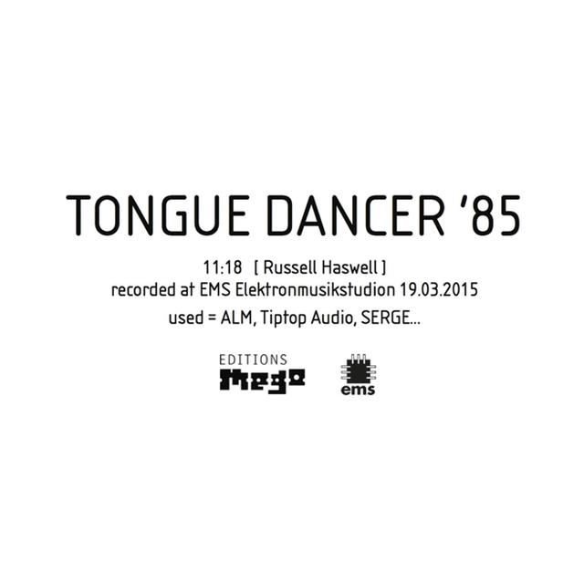 Russell Haswell TONGUE DANCER '85 Vinyl Record