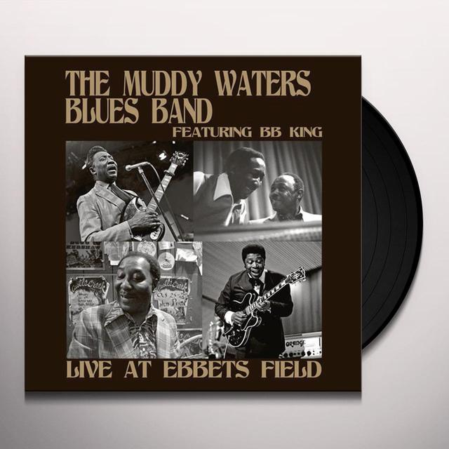 Muddy Waters Blues Band LIVE AT EBBETS FIELD Vinyl Record - Remastered
