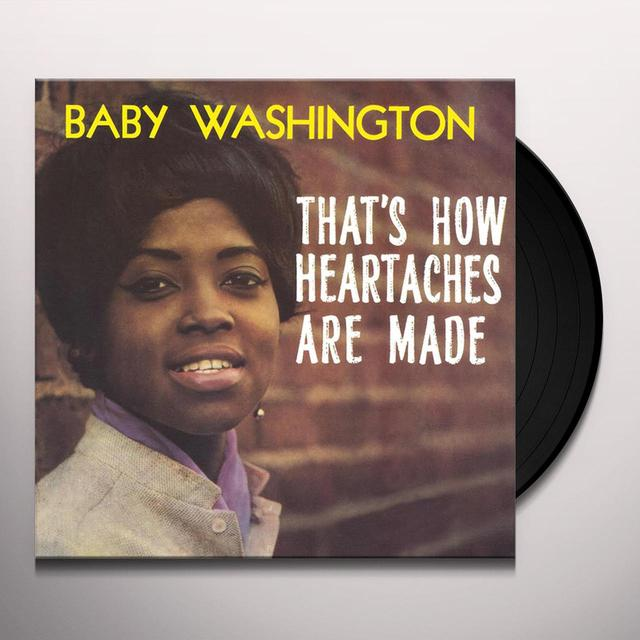 Baby Washington THAT'S HOW HEARTACHES ARE MADE Vinyl Record