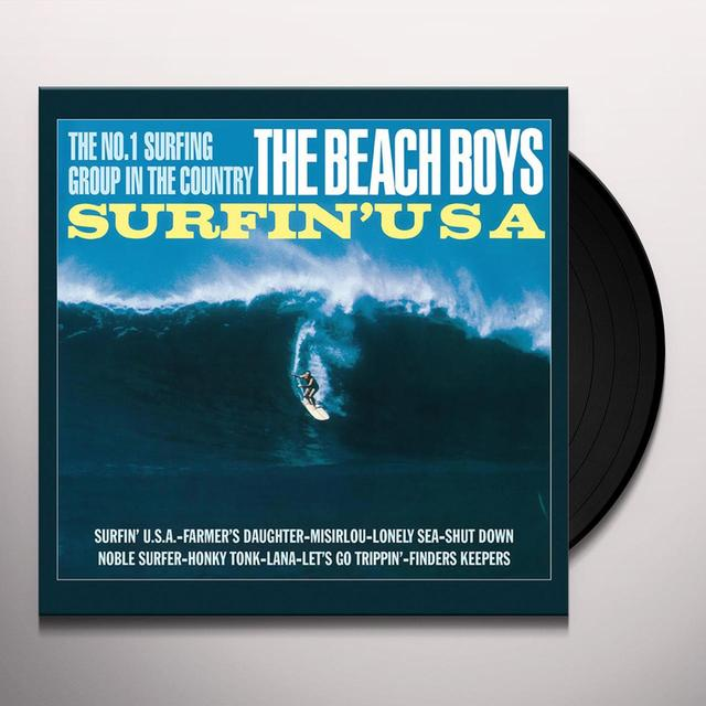 The Beach Boys SURFIN' USA Vinyl Record