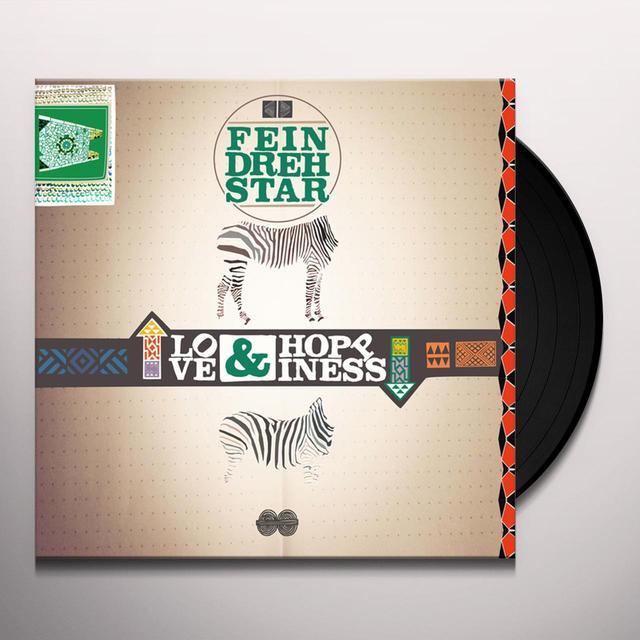 Feindrehstar LOVE & HOPPINESS Vinyl Record