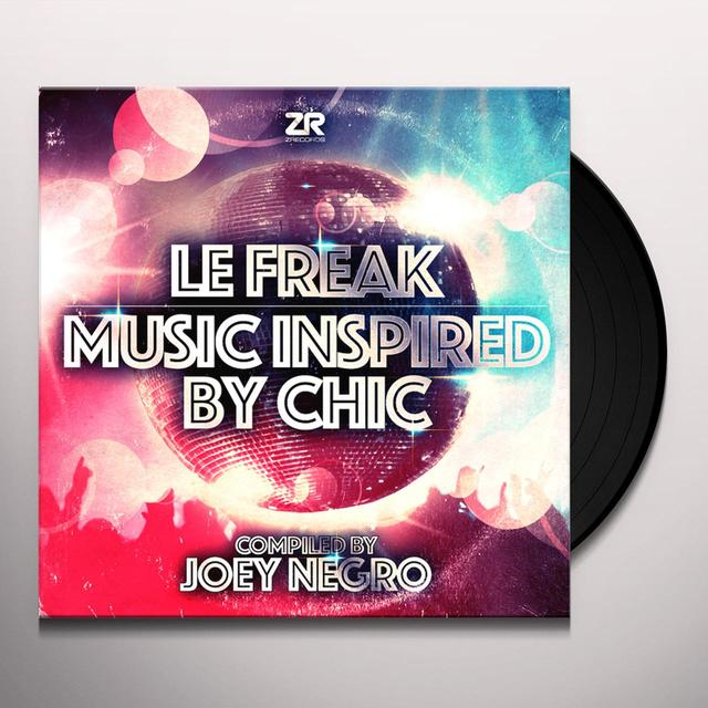 Joey Negro LE FREAK: MUSIC INSPIRED BY CHIC Vinyl Record - Gatefold Sleeve