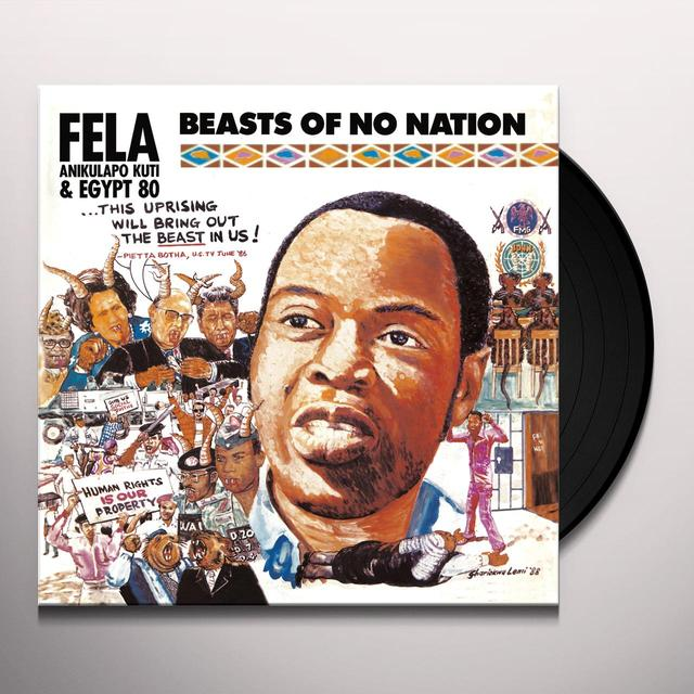 Fela Kuti BEASTS OF NO NATION Vinyl Record - Digital Download Included