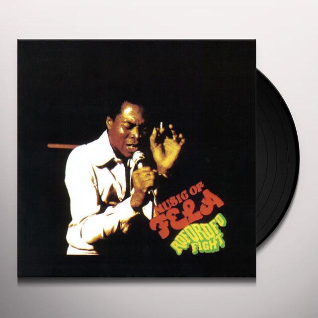 Fela Kuti ROFOROFO FIGHT Vinyl Record - Digital Download Included