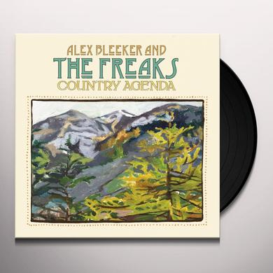 Alex Bleeker & The Freaks COUNTRY AGENDA Vinyl Record - Digital Download Included