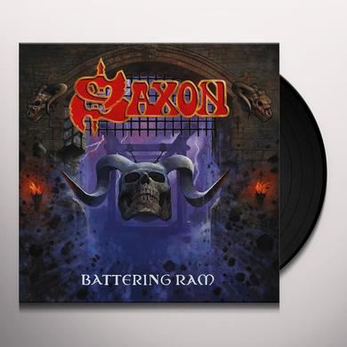 Saxon BATTERING RAM Vinyl Record - 180 Gram Pressing, Digital Download Included