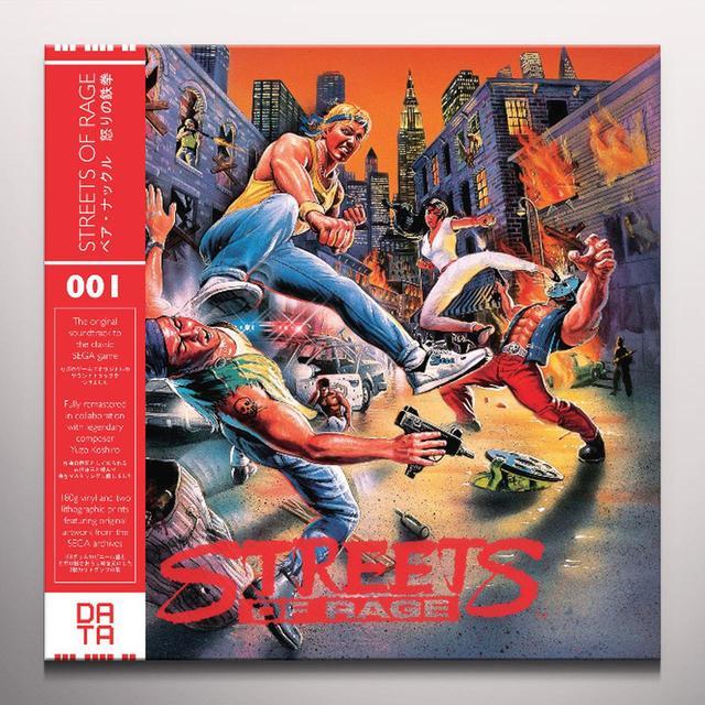 Yuzo Koshiro STREET OF RAGE / O.S.T. Vinyl Record - 180 Gram Pressing, Red Vinyl