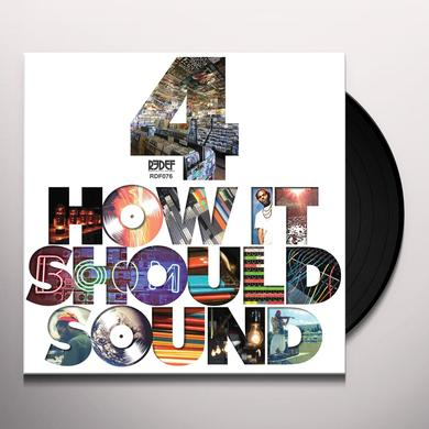 Damu The Fudgemunk HOW IT SHOULD SOUND 4 Vinyl Record