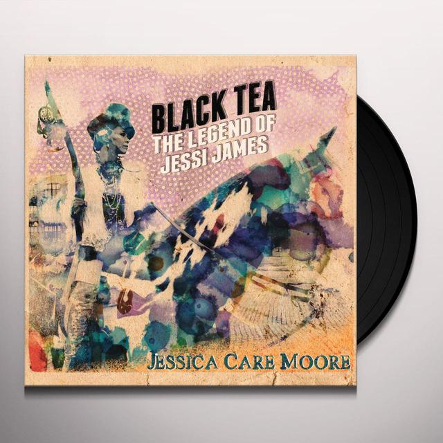 JESSICA CARE MOORE BLACK TEA: THE LEGEND OF JESSI JAMES Vinyl Record