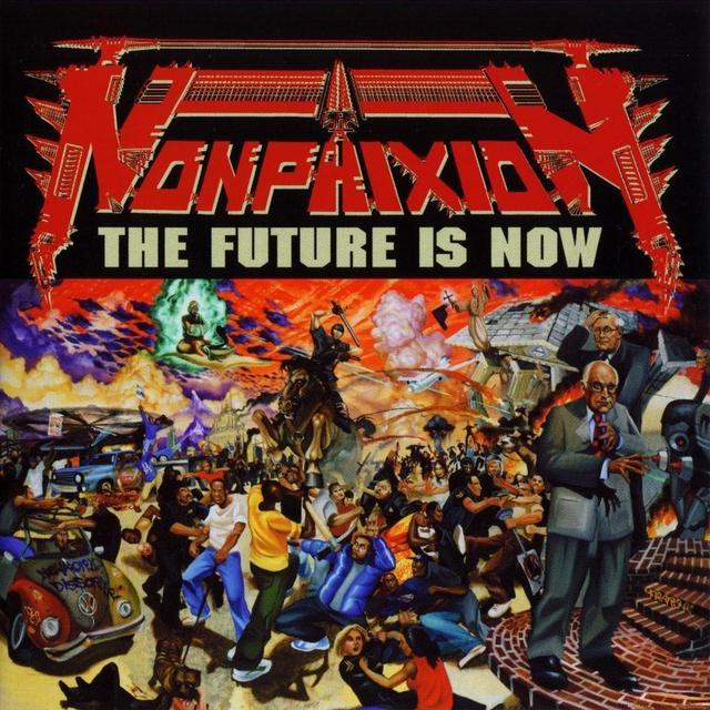 Non Phixion FUTURE IS NOW (WB) (WSV) Vinyl Record - Poster