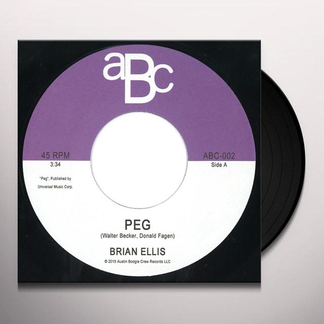 Brian Ellis PEG / WAVE Vinyl Record