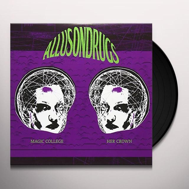 Allusondrugs MAGIC COLLEGE Vinyl Record - UK Import