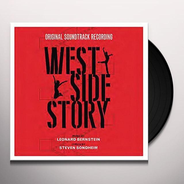 Leonard Bernstein WEST SIDE STORY Vinyl Record - UK Import