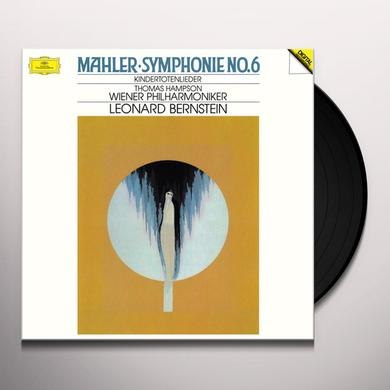 Leonard Bernstein & Wiener Philharmoniker MAHLER: SYMPHONIE NO. 6 Vinyl Record